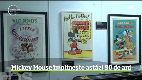 Sărbătoare mare în lumea desenelor animate! Mickey Mouse împlineşte 90 de ani