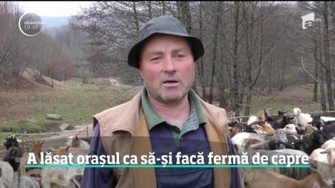 O tânără din Brașov a lăsat orașul ca să-și facă fermă de capre