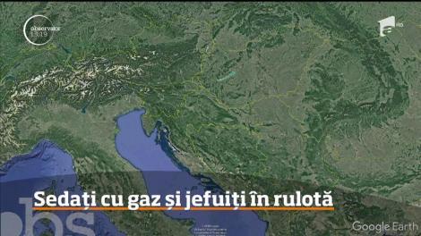 O nouă metodă de jaf, pusă la cale de o bandă de hoţi din care fac parte şi români!