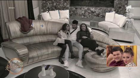 """Iubitul Cristinei, criză de nervi după ce tânăra s-a sărutat cu burlacul Bogdan, la """"Totul pentru dragoste"""""""