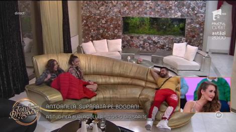 """Antoanela, supărată pe burlacul Bogdan: """"O să îți iei o mare țeapă"""""""