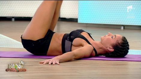 Fitness la Neatza! Diana Stejereanu, cele mai bune exerciții pentru abdomen