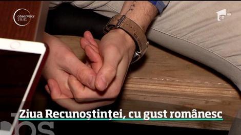 Ziua Recunoștinței, cu gust românesc