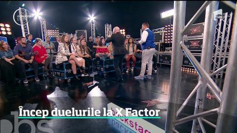 Încep duelurile la X Factor