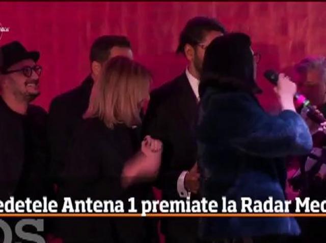 Vedetele Antena 1 premiate la Radar Media