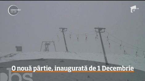 O nouă pârtie va fi inaugurată, de 1 decembrie, la 14 kilometri de oraşul Horezu, în judeţul Vâlcea