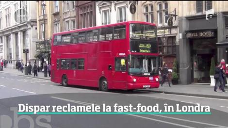 Dispar toate reclamele la fast-food! Londra declară război obezităţii la copii