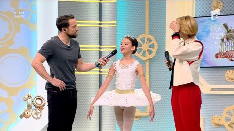 """Dani, despre numărul de balet al Marthei Savin: """"Îmi aduce aminte de mine când eram copil"""""""