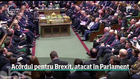 Theresa May a dat cel mai important examen al mandatului de premier, în faţa parlamentarilor britanici