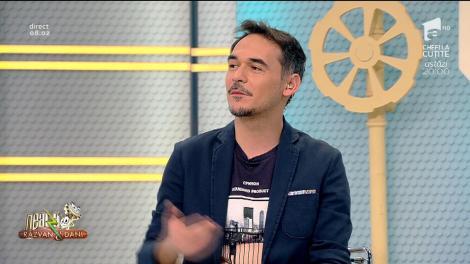 """Răzvan, ironii la adresa colegului său: """"Ai o față de lasă-mă să te las"""". Cum s-a apărat Dani - VIDEO"""