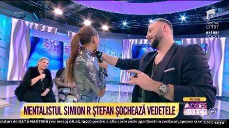 Celebrul mentalist Simion R Ştefan șochează vedetele. Minodora a izbucnit în lacrimi
