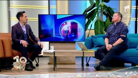 """Cătălin Oprișan a mai venit cu o surpriză la """"Neatza""""! Imagini din prima ediție din emisiunea """"Te pui cu blondele?""""! A filmat timp de 14 ore, cu Florin Piersic!"""