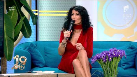 """Imagini de colecție cu Mihaela Rădulescu la """"Duminica în Familie"""": """"Am fost o sută de ani pe post cu emisiunea asta"""""""
