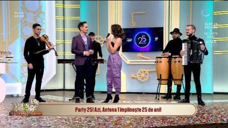 """Raluka, despre aniversarea Antenei 1: """"În urmă cu 25 de ani eu aveam patru ani"""""""