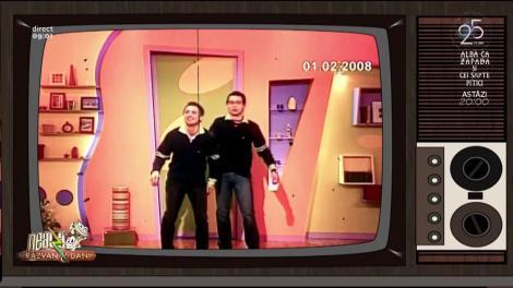 Primele imagini cu Răzvan și Dani la Neatza