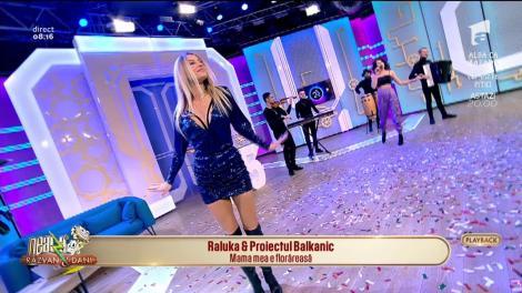 """Petrecereee! Raluka și Proiect Balkanic au interpretat """"Mama mea e florăreasă"""" la """"Neatza cu Răzvan și Dani"""" - VIDEO"""