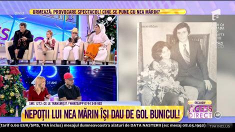 """Nea Marin și fiica lui, Larisa, împărtășesc cele mai frumoase amintiri din viața lor: """"Nunta mea a ținut de sâmbătă până luni"""""""