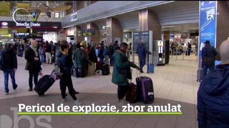 Pericol de explozie pe Aeroportul Otopeni din Capitală, chiar în timpul paradei militare