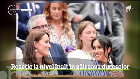 Reacție rară a Casei Regale a Marii Britanii cu privire la noul scandal dintre Meghan Markle și Kate Middleton! Ce se întâmplă între cele două