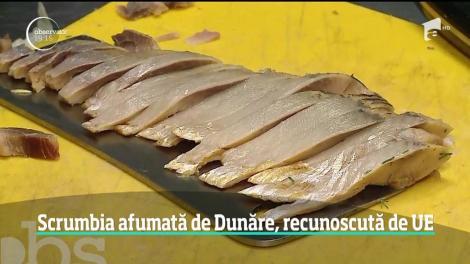 România are încă un produs recunoscut şi protejat în Uniunea Europeană, scrumbia afumată de Dunăre