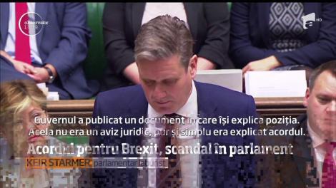 Sunt tensiuni tot mai mari pe scena politică britanică! Aprobarea acordului pentru Brexit în Parlamentul de la Londra e pusă sub semnul întrebrii