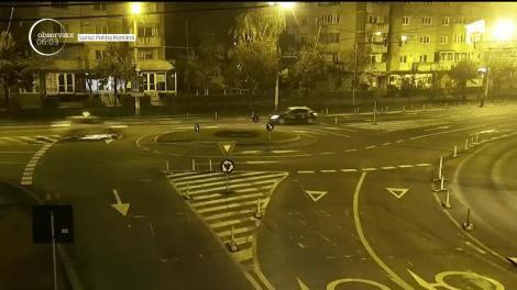 Goană haotică pe străzile din Cluj Napoca a unui tânăr care se urcase băut la volan