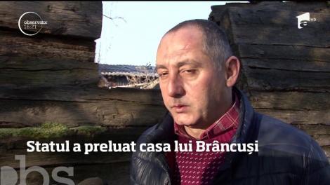 Statul a preluat casa lui Constantin Brâncuşi de la Hobiţa. Clădirea este o ruină
