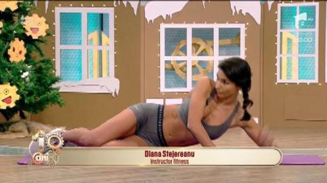 Fitness la Neatza! Exerciții pentru interiorul coapselor