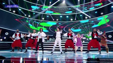 "Ana Baniciu și Raluka s-au transformat în Michael Jackson - ""Black Or White"""