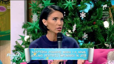 """Adelina Pestriţu, o mămică fericită: """"Fetița mea râde non-stop!"""""""