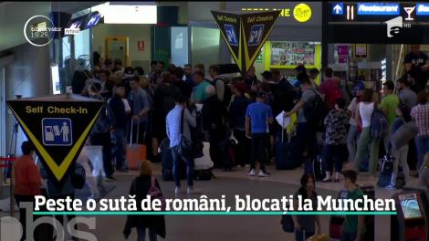 Zeci de români au fost blocaţi 15 ore pe aeroportul din Munchen