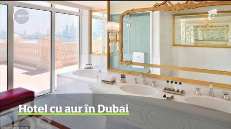 Emiratul Dubai este cunoscut pentru hotelurile sale de un lux deosebit, dar cel numit Emerald Palace, inaugurat recent, pare să le întreacă pe toate