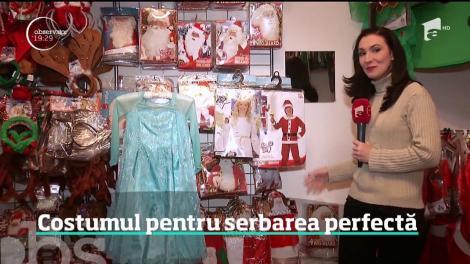 Moş Crăciun, spiriduşi, îngeraşi, printre cele mai căutate costume pentru serbările şcolare