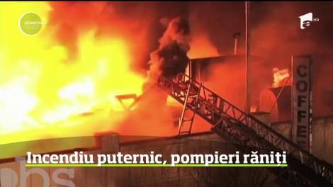 Incendiu puternic în cartierul Queens din New York