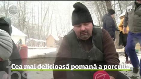Pregătirile pentru Crăciun intră pe ultima sută de metri. Peste tot în ţară, românii au început să taie porcii şi pregătesc bucatele pentru masa festivă