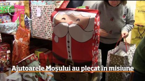 În Cluj-Napoca, Moş Crăciun are ajutoare de nădejde