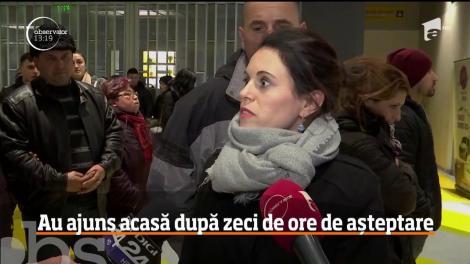 Cei 200 de români care au stat blocaţi pe aeroportul din Bologna, au ajuns în ţară