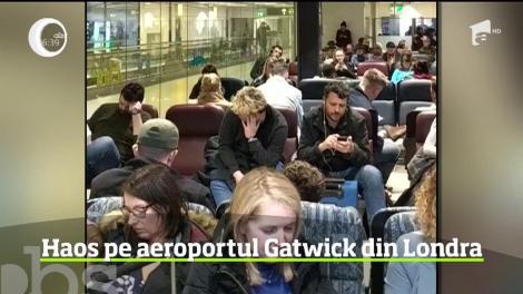 Haos pe unul dintre cele mai aglomerate aeroporturi din Marea Britanie, Gatwick, după ce pe cer au apărut două drone
