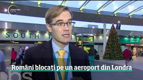 """760 de zboruri au fost anulate! Este haos pentru români: """"Erau foarte multe persoane plângând. Era nebunie."""""""
