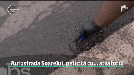 Reparaţiile absurde de pe Autostrada Soarelui