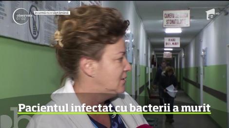 Pacientul infectat cu o bacterie în spitalul din Roşiorii de Vede a murit, după zile lungi de suferinţă