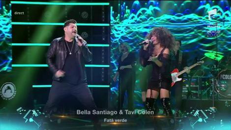 """Finala X Factor 2018. Duet. Bella Santiago & Tavi Colen - """"Fată verde"""""""