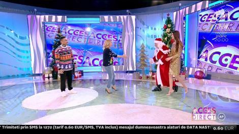 Atenție, copii! Moș Crăciun a ajuns în România! Prima oprire a fost la Acces Direct!