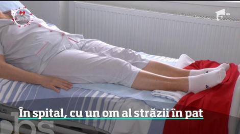 Caz revoltător la Spitalul Universitar din Capitală. O pacientă s-a trezit în pat cu un om al străzii