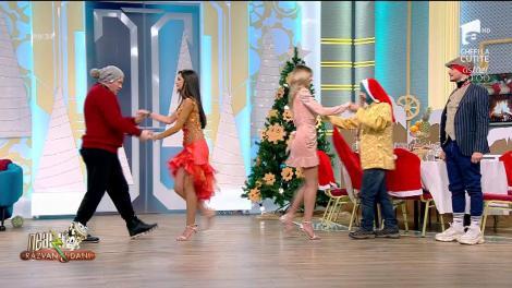 """Ucenica Alexandra le-a oferit cursuri de dans """"hoţilor"""" de Crăciun! """"Dacă mă faci de râs, dormi și noaptea cu căciula!"""""""
