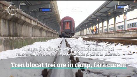 Haos pe căile ferate din România! Încă un tren a deraiat în drum spre Cluj! E al treilea în ultima săptămână
