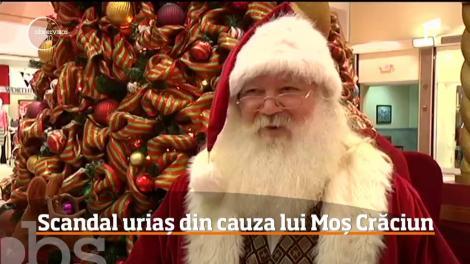 Scandal uriaș din cauza lui Moș Crăciun