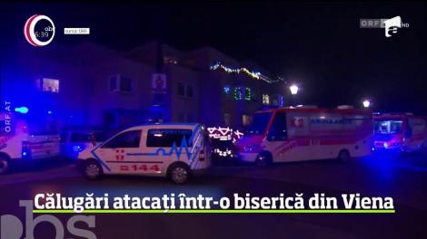 Atac deosebit de violent într-o biserică de la periferia Vienei
