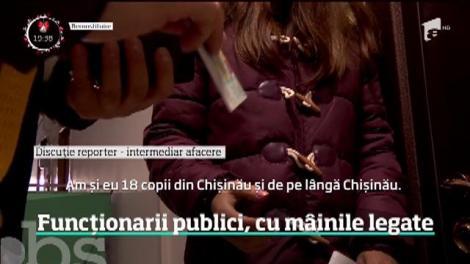 Afacerile cu buletine pentru cetăţeni moldoveni par de neoprit în Capitală