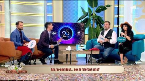 """Provocarea """"am/n-am"""" cu Mihaela Rădulescu și Horia Brenciu, la Neatza"""